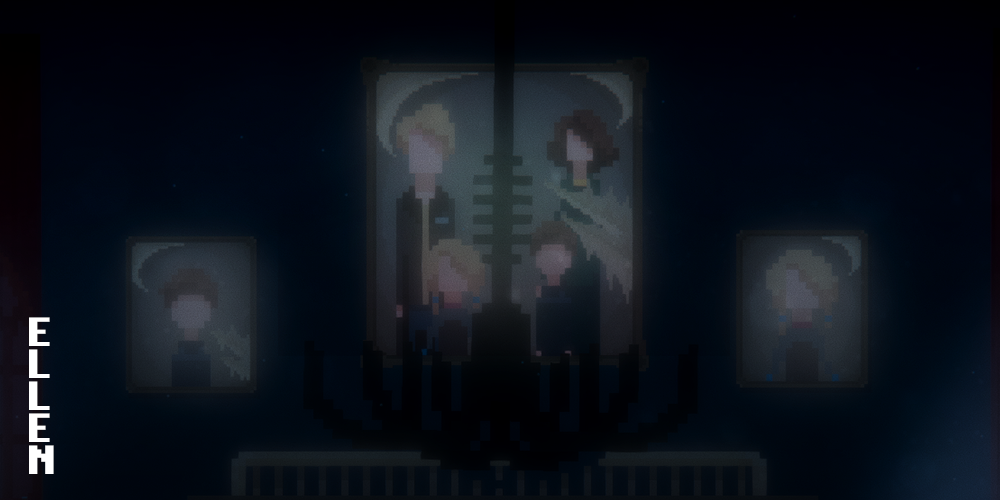Ellen - 2D Pixel Art Horror Game
